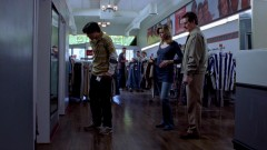 Walt Jr. buys a new pair of pants