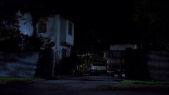 Walt is at Jesse's house at night.