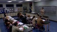 Walt teaches a class.