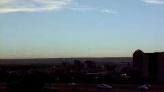 Wide shot of Albuquerque.