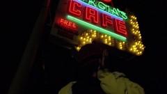 Jesse deals at Garcia's cafe.