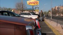 Walt eats at Denny's.
