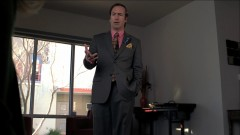 Saul pays Walt and Skylar a visit.