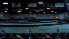 Jesse goes karting.