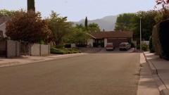 Skylar leaves the house.