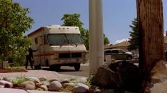 Skylar leaves the house again.