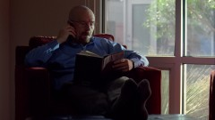 Walt gets a call from Hank. Alternates with the previous scene.