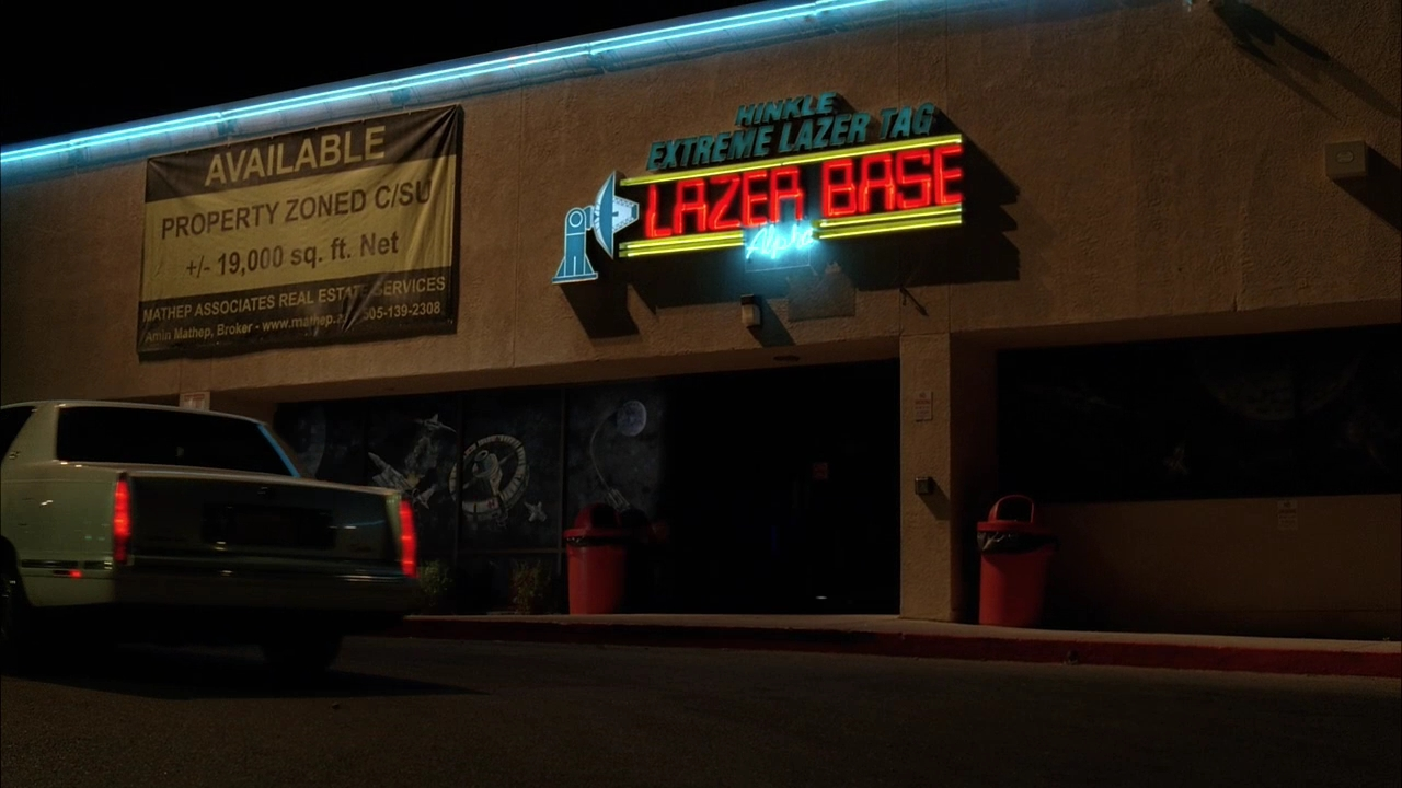 Lasertag arena - Breaking Bad Locations