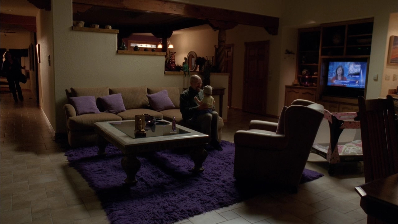 Breaking Bad Marie's House Purple Living Room