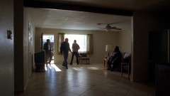 Hank and Gomez pay Huell a visit.