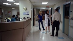 Saul and Kim go to Chuck in the hospital.