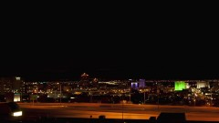 Timelapse of Albuquerque at night.