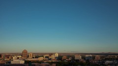 Timelapse of sunrise in Albuquerque.