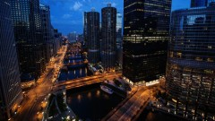 Quick shot of the Chicago river.