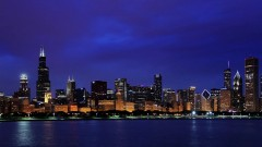 Quick shot of the Chicago skyline.